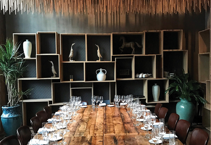 Vidrio Wine Dinner with Perliss Vineyards